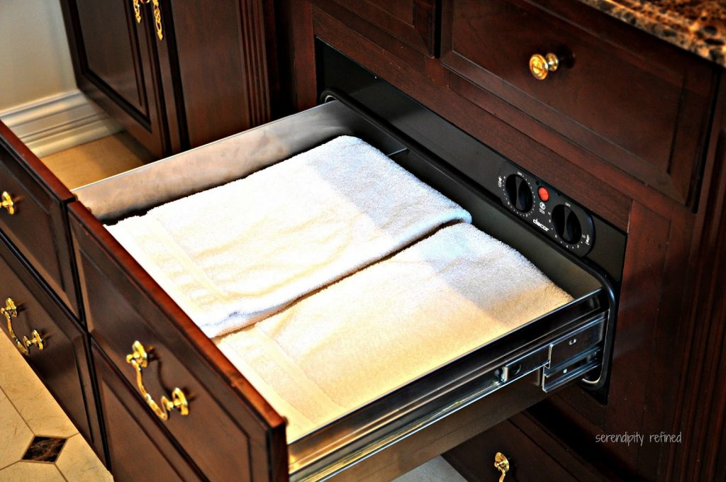 Heated Towel Drawer